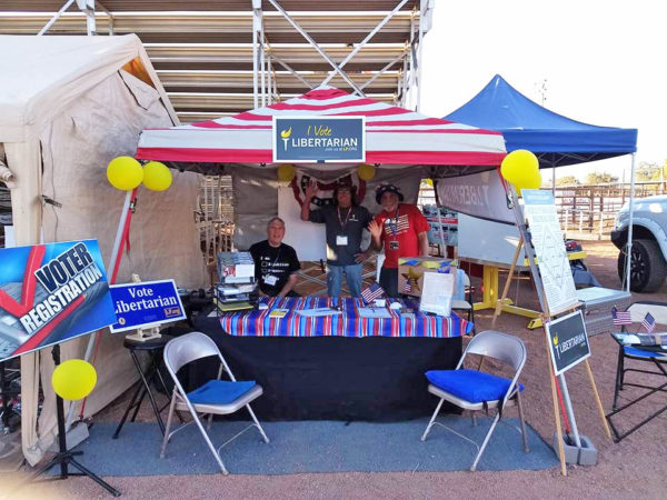Gilza AZ LP Outreach Booth